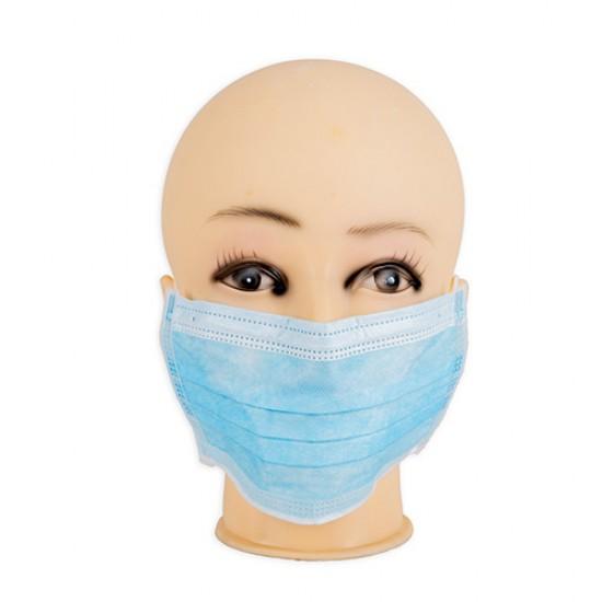 Dalma Carton Disposable Face Mask Blue